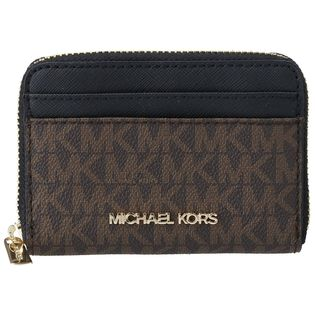 【MICHAEL KORS(OUTLET)】カードケース/【BROWN/BLK】