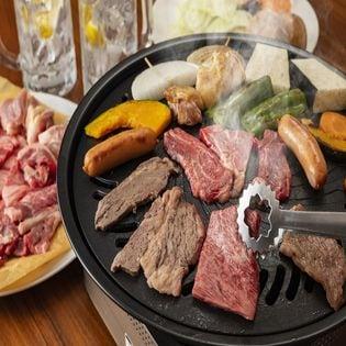 【計400g】国産黒毛和牛 焼肉セット(カルビ、モモ)各200g
