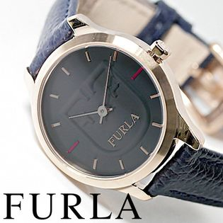 FURLA フルラ腕時計 レディース LIKE SCUDO ネイビー