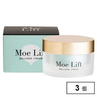 【3個】Moe Lift(モエ リフト)/潤いとハリを与えるプレミアムモイスチャークリーム