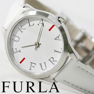 FURLA フルラ腕時計 レディース LIKE LOGO ホワイト