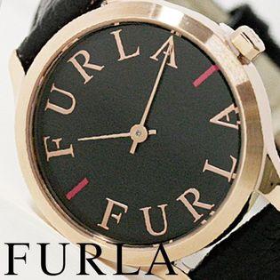 FURLA フルラ腕時計 レディース LIKE LOGO ブラック