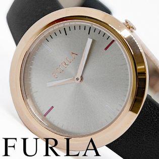 FURLA フルラ腕時計 レディース VALENTINA ブラック