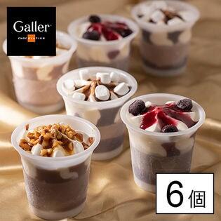 【6個】ガレー チョコレートアイスパルフェ(GL-P)「Galler」監修!