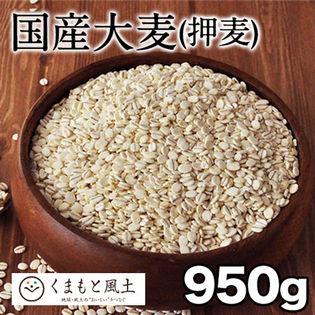 【950g】国産大麦(押麦)