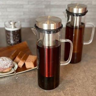 Felio COLD BREW コーヒーボトル/ガラス製!水&コーヒー粉で簡単水出しコーヒーが完成!