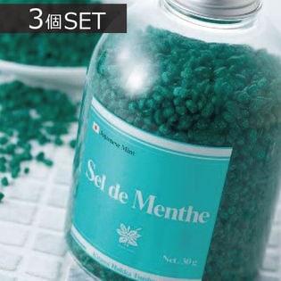 ハッカ湯 入浴剤(ボトルタイプ) 450g ×3本 - 北見ハッカ通商 セルデメンタ