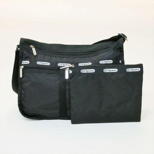 [LeSportsac]ショルダーバッグ DELUXE EVERYDAY BAG ブラック