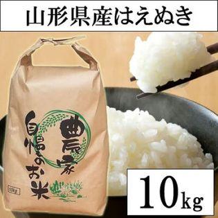 【10kg】令和3年産 山形県産 はえぬき (精米)
