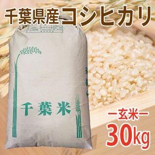 【30kg×1袋】令和3年産 新米 玄米 千葉県産コシヒカリ