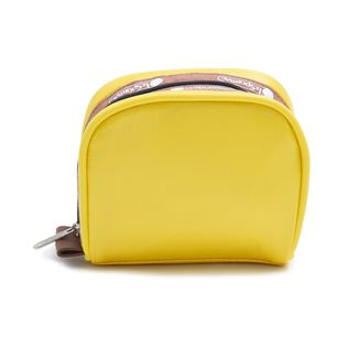 [LeSportsac]ポーチ PIPED SQ COSMETIC イエロー