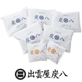 調湿木炭「炭八」ミディアムサイズ3L×5袋、スマート小袋×2袋