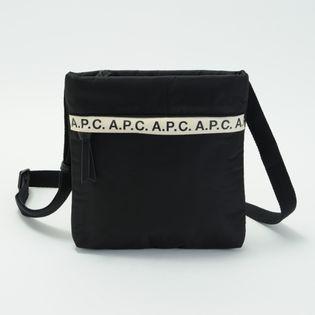 【A.P.C】ショルダーバッグ REPEAT SACOCHE ブラック
