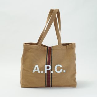 【A.P.C】トートバッグ DIANE SHOPPING BAG キャメル