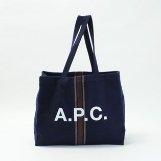 【A.P.C】トートバッグ DIANE SHOPPING BAG ネイビー