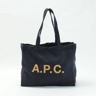 【A.P.C】トートバッグ DIANE SHOPPING BAG ブラック系