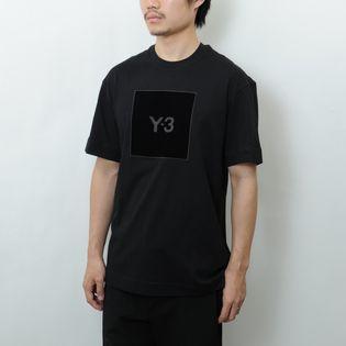 Sサイズ【Y-3】Tシャツ U SQUARE LOGO  SS TEE ブラック