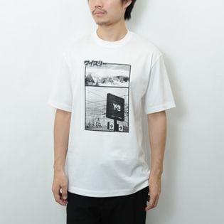 Mサイズ【Y-3】Tシャツ U CH2 ZINE PAGE-1 SS TEE ホワイト