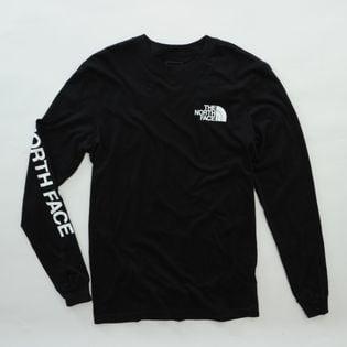 Mサイズ【THE NORTH FACE】Tシャツ M L/S SLEEVE HIT TEE ブラック