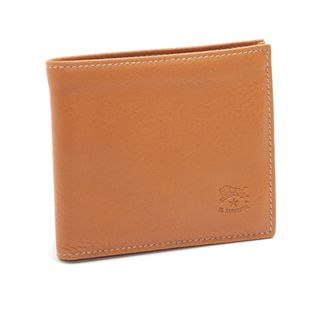 【IL BISONTE】折り財布 BI-FOLD WALLET ライトブラウン