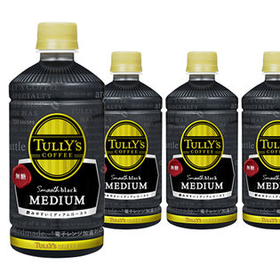 TULLY'S COFFEE Smooth black MEDIUM PET 500ml
