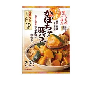 キッコーマン うちのごはん 煮込み料理の素 かぼちゃと豚バラ まろやか醤油 糀仕立て 102g