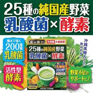 25種の純国産野菜 乳酸菌×酵素