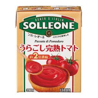 【4個】パッサータ(テトラ)うらごし完熟トマト390g [抽選サンプル]