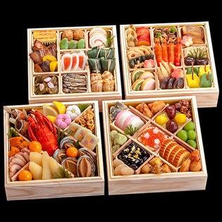 【12月29・30日にお届け】京都しょうざんのおせち 千寿閣※盛り付け済み (OSR1608)