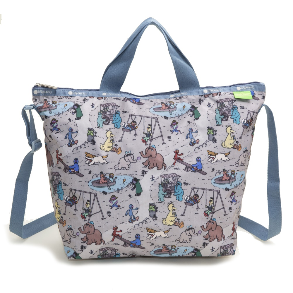 [LeSportsac]トートバッグ DELUXE EASY CARRY TOTE グレージュ系