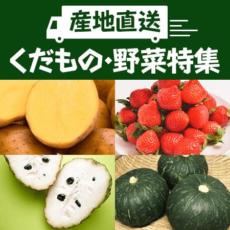 産直野菜・果物特集